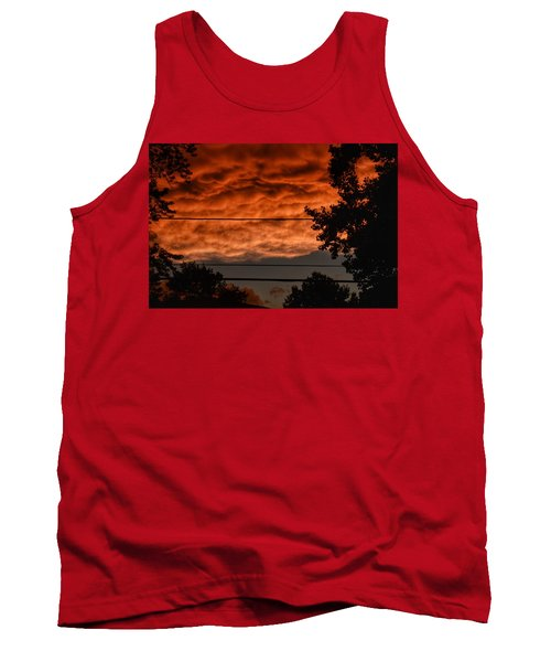 Tank Top featuring the photograph Rolling Skies by Nikki McInnes