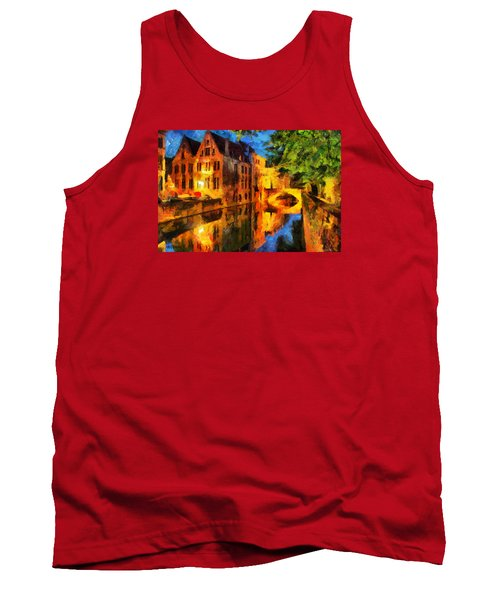 Romantique Tank Top by Greg Collins