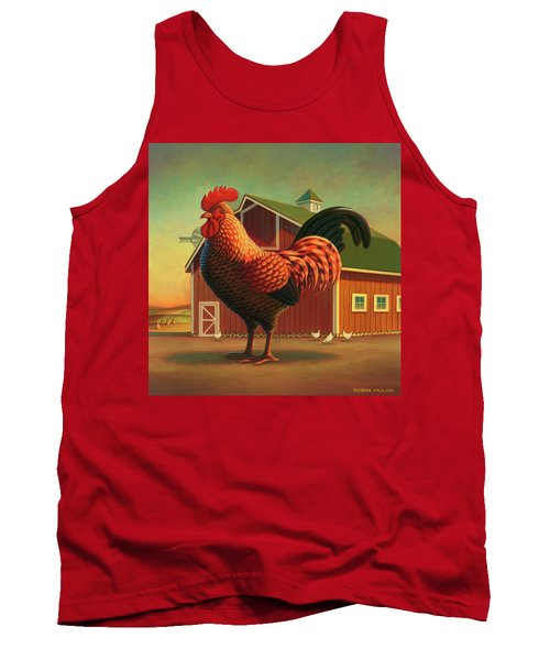 Rooster And The Barn Tank Top