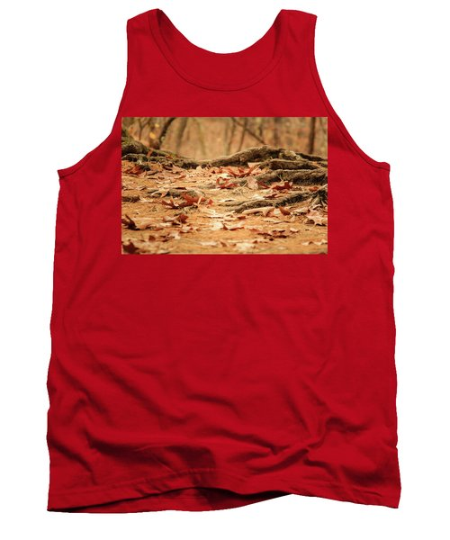 Roots Along The Path Tank Top