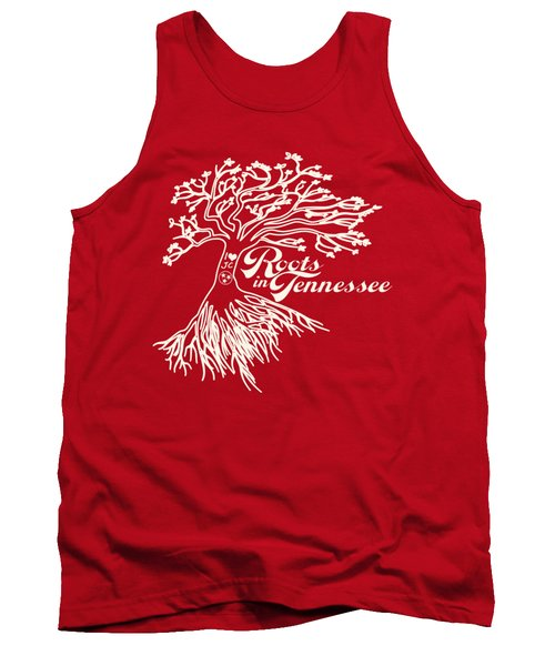 Roots In Tennessee Tank Top by Heather Applegate