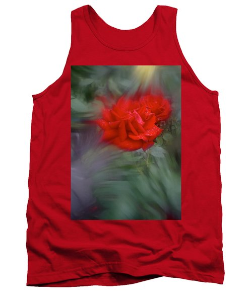 Tank Top featuring the photograph Rose Aug 2016 by Richard Cummings