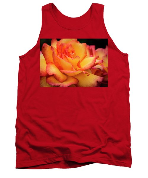 Tank Top featuring the photograph Rose Beauty by Jean Noren