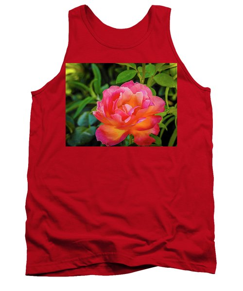 Rose In The Evening Tank Top