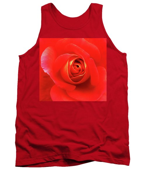 Rose Tank Top by Mary Ellen Frazee