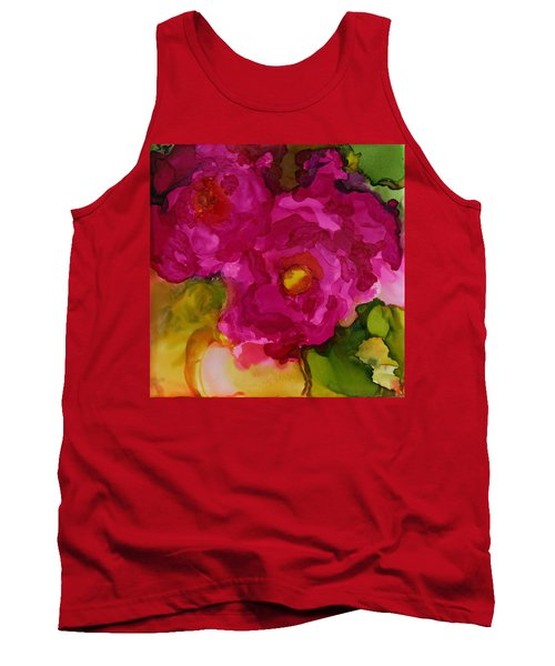 Rose To The Occation Tank Top by Joanne Smoley