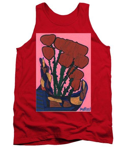 Rosebed Tank Top by Darrell Black