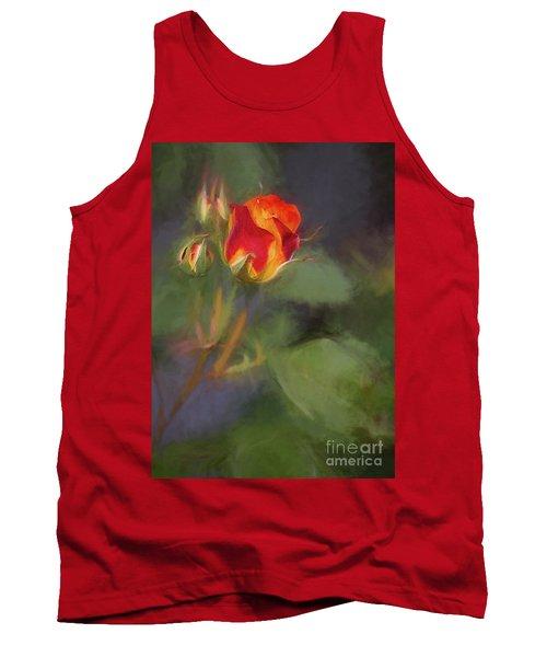 Rosebuds Tank Top by Billie-Jo Miller