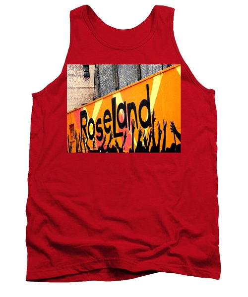 Roseland Ballroom In Nyc Tank Top