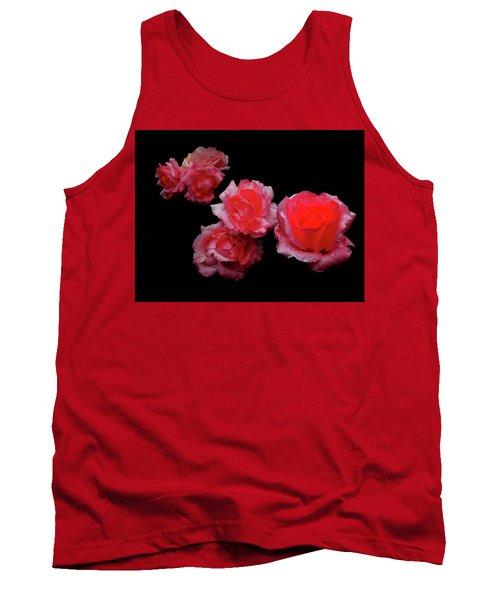 Roses And Rain Tank Top