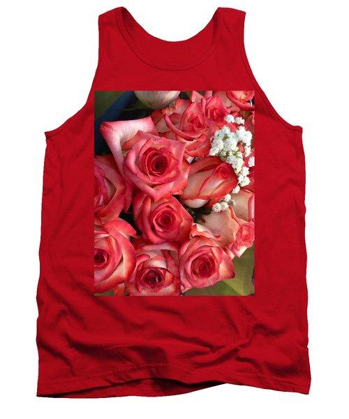 Roses For God Tank Top by Carlos Avila