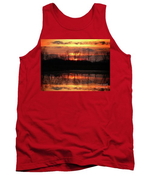Rosy Mist Sunrise Tank Top