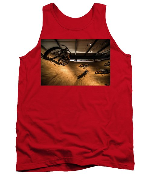Tank Top featuring the photograph Rounding The Bend by Randy Scherkenbach