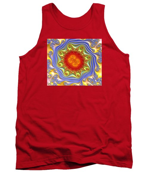 Royal Crown Jewels Tank Top by Kevin Caudill