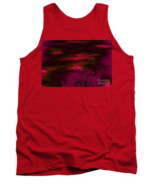 Purple Rain Tank Top by Jesse Ciazza