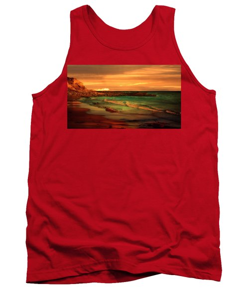 Royal Palms Beach At White Point Tank Top