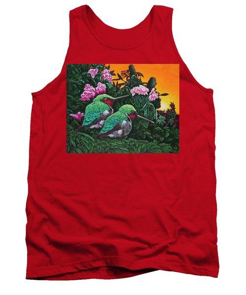 Ruby-throated Hummingbirds Tank Top