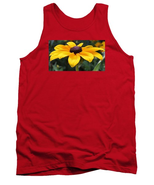 Rudbeckia Bloom Up Close Tank Top by Bruce Bley