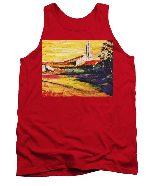 Ruinas De La Central Eureka Tank Top