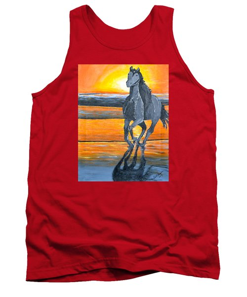 Run Free Tank Top by Donna Blossom