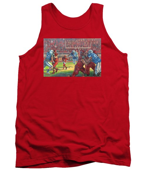 Running Courage Tank Top by Jeff Brimley