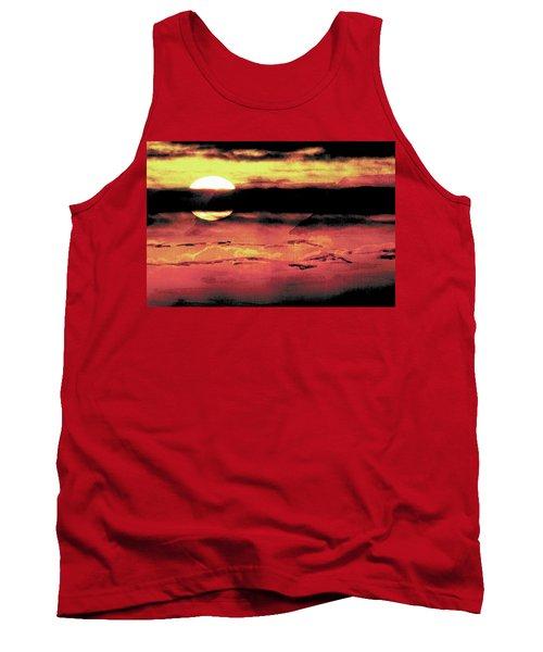 Russet Sunset Tank Top