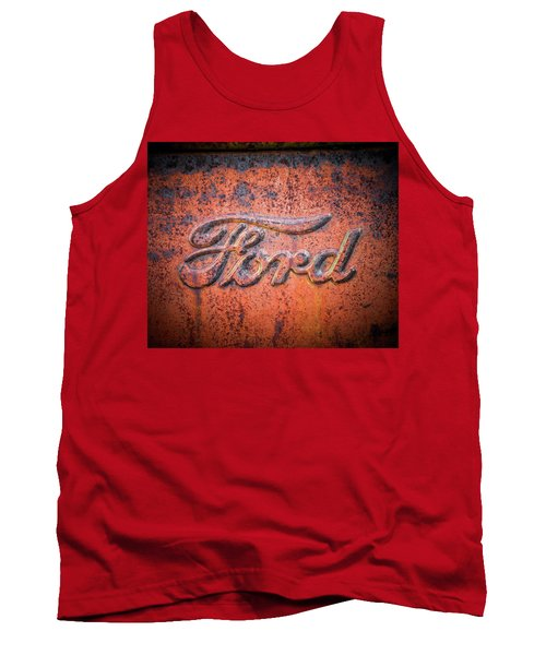 Rust Never Sleeps - Ford Tank Top