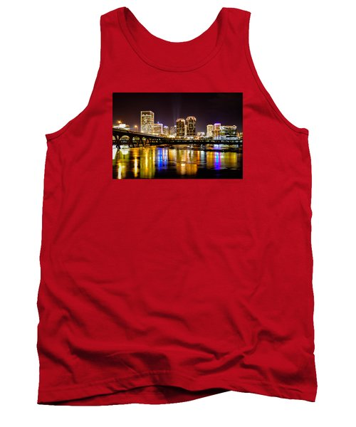 Rva Holiday Skyline 3 Tank Top