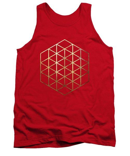 Sacred Geometry - Philosopher's Stone No. 2 Tank Top