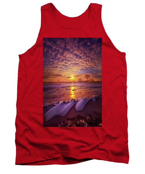 Tank Top featuring the photograph Safely Secluded In A Far Away Land by Phil Koch