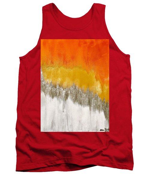 Saffron Sunrise Tank Top