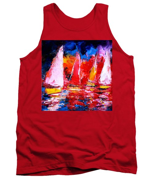 Sail To The Sunset Tank Top