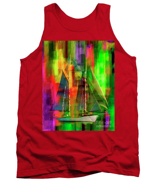 Sailing In The Abstract 2016 Tank Top