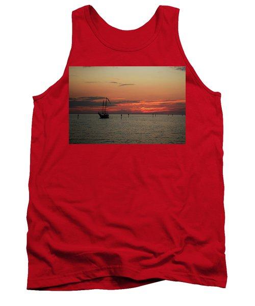 Sailing Sunset Tank Top