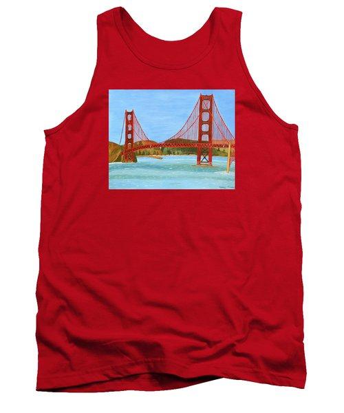 San Francisco Bridge  Tank Top