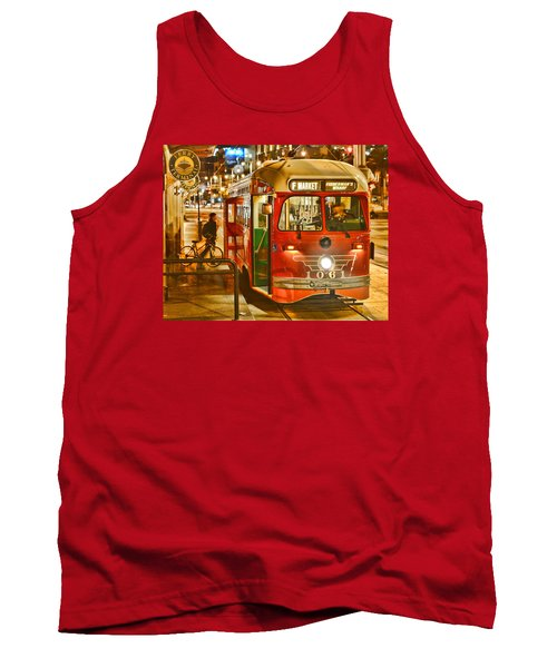 Tank Top featuring the photograph San Francisco's Ferry Terminal by Steve Siri