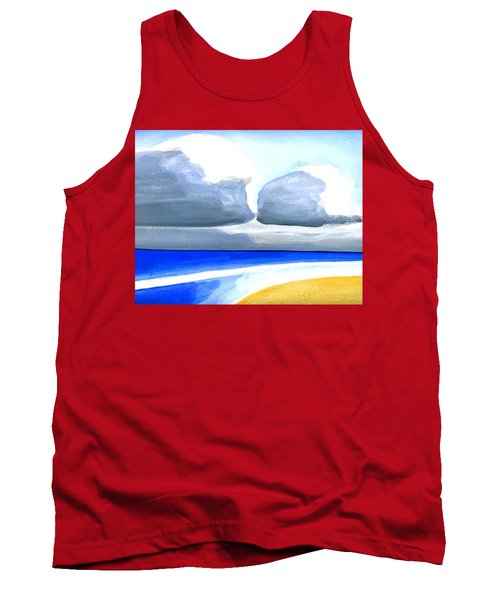 San Juan Cloudscpe Tank Top by Dick Sauer