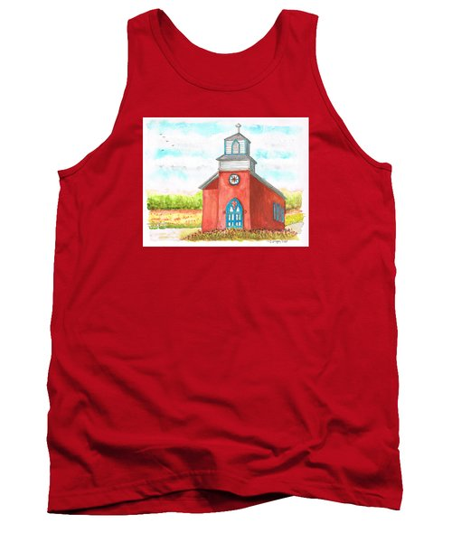 San Rafael Church In La Cueva, New Mexico Tank Top