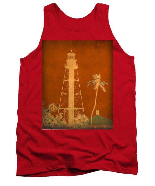 Sanibel Island Lighthouse Tank Top