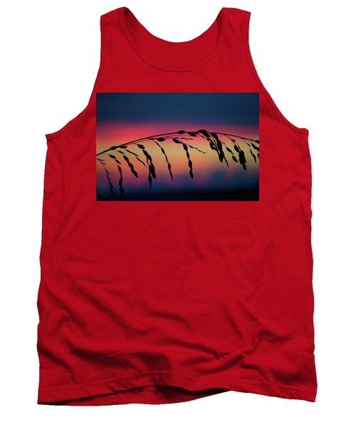 Tank Top featuring the photograph Sanibel Sea Oats by Melanie Moraga