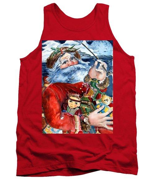 Santa Tank Top