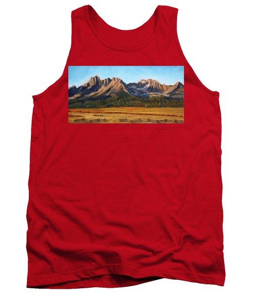 Sawtooth Mountains - Iron Creek Tank Top