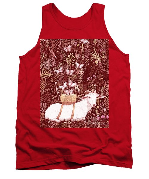 Scapegoat Healing Tapestry Print Tank Top
