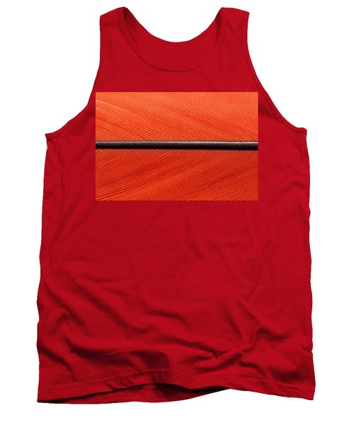 Scarlet Macaw Feather Tank Top