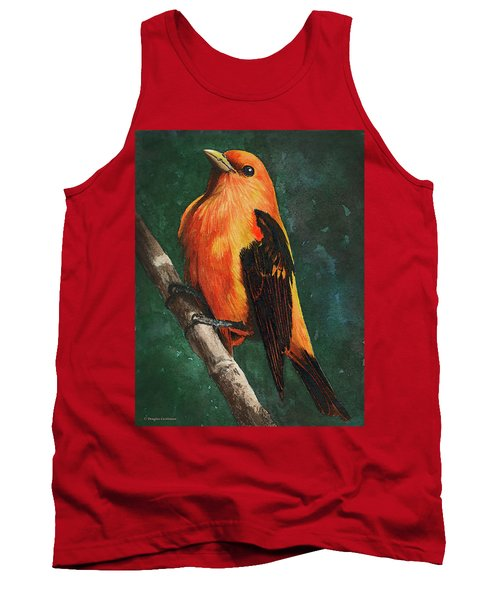 Scarlet Tanager Tank Top