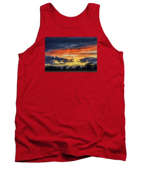 Tank Top featuring the photograph Scottish Sunset by Jeremy Lavender Photography