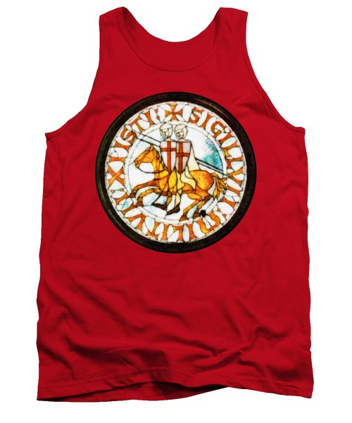 Seal Of The Knights Templar Tank Top