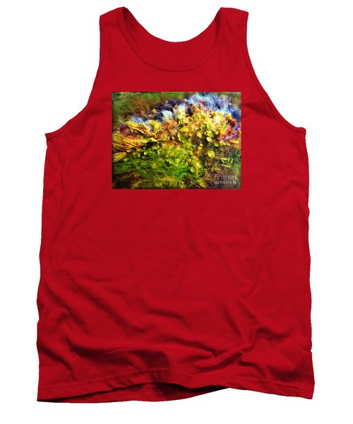Seaweed Grunge Tank Top by Todd Breitling