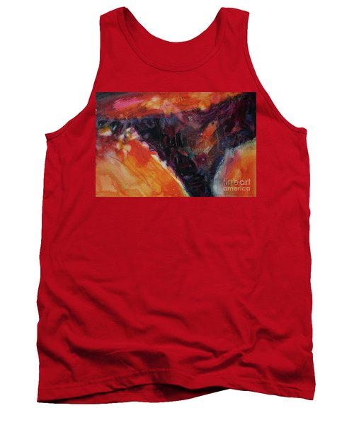 Tank Top featuring the painting Secret Hideaway by Kathy Braud