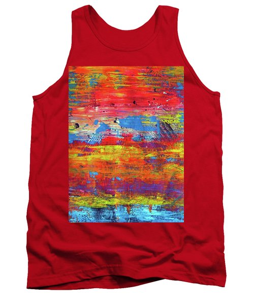 Tank Top featuring the painting Sedona Trip by Everette McMahan jr